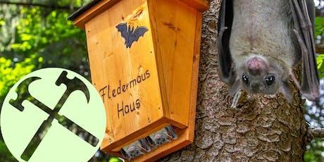 Halloween : fabrication de cabanes à chauves-souris tickets