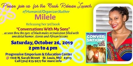 Author Milele Book Launch tickets
