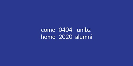 unibz Alumni Homecoming 2020