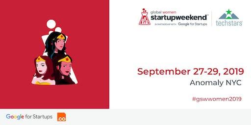 Techstars Startup Weekend Women NYC