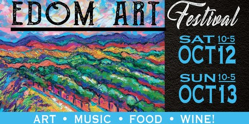 47th Annual Edom Art Festival