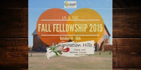 CCCA Fall Fellowship 2019 tickets