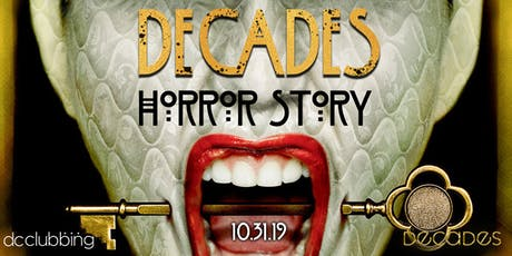Decades Horror Story- Halloween Party tickets