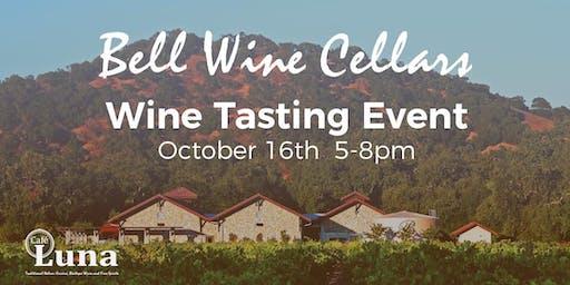 Bell Wine Cellars Wine Tasting Event