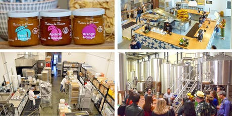 Dogpatch Gourmet Factory Tour: Granola, Bagels, Jam and Beer! - SFMade Week tickets