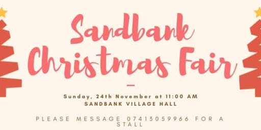 Sandbank Christmas Fair