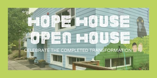 Open House to Celebrate Hope House Renovations