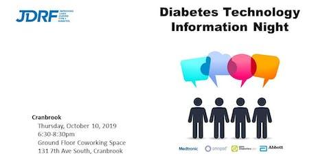 Diabetes Technology Information Night - Cranbrook tickets