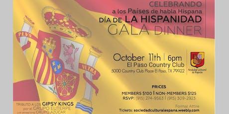 Dia de la Hispanidad Gala Dinner boletos
