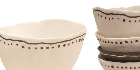 Hand Building - Pinch Pots - Kylie Rose McLean T4 tickets