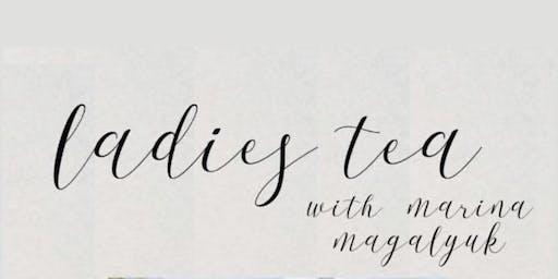 Ladies Tea w/ Marina Magalyuk