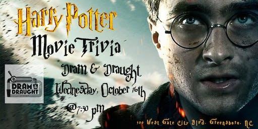 Harry Potter Movies Trivia at Dram & Draught Greensboro