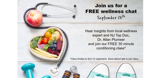 NJ Top Doc, Dr Plumser, explains how to jumpstart your wellness journey