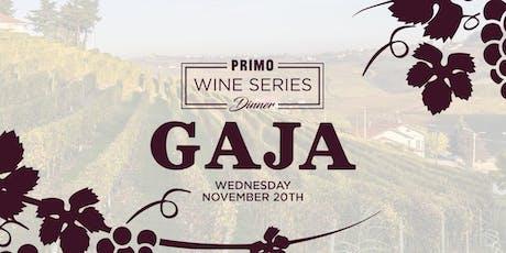 Primo Wine Dinner: Gaja tickets