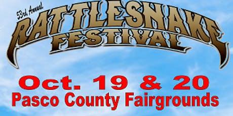 53rd Annual Rattlesnake Festival tickets