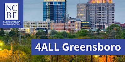 4ALL Statewide Service Day 2020 - Greensboro