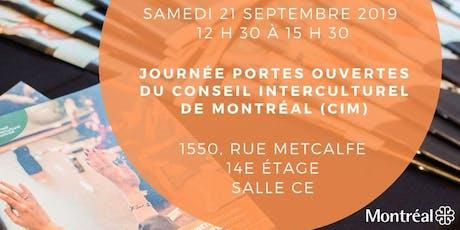 Portes ouvertes du Conseil interculturel de Montréal - Open House Event billets