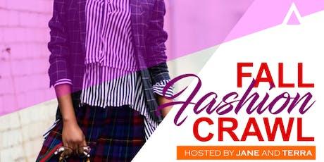 Fall Fashion Crawl tickets