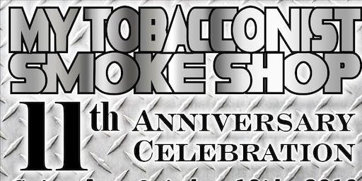 My Tobacconist Smoke Shop 11th Anniversary Party