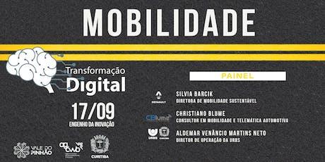 Transformação Digital na Mobilidade - 2º encontro ingressos