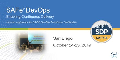 SAFe DevOps (SDP Certification) in San Diego tickets