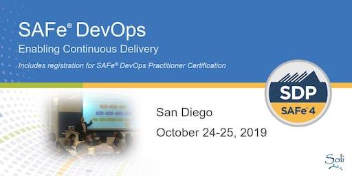 SAFe DevOps (SDP Certification) in San Diego