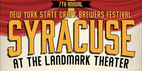 New York State Craft Brewers Festival: Syracuse - 11/2/19 tickets