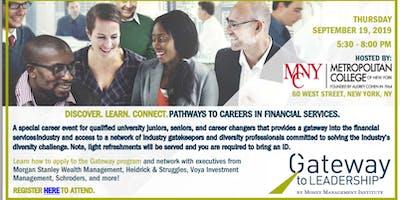MCNY Career Development/Money Management Institute - Gateway to Leadership