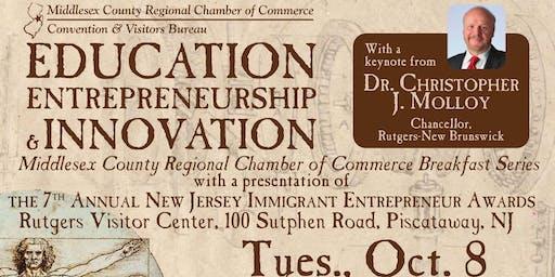 Education, Entrepreneurship and Innovation