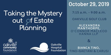Taking the Mystery out of Estate Planning tickets