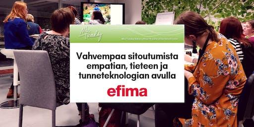 Nice Tuesday Tampere & Efima: Vahvempaa sitoutumista empatian, tieteen ja tunneteknologian avulla