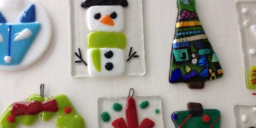 Gorgeous Glass Workshop: Holiday Ornaments I