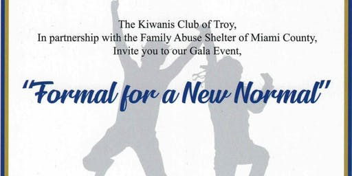 Formal for a New Normal ~ Dinner & Dancing for a great cause