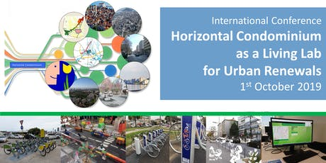 "Conference  ""Horizontal Condominium as a Living Lab  for Urban Renewals"" biglietti"