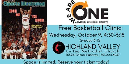 Basketball Clinic with Sidney Moncrief