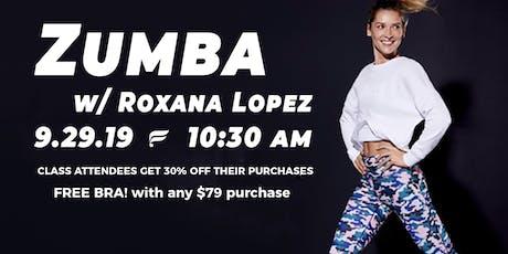 ZUMBA! hosted by Roxana Lopez tickets