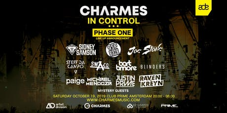 Charmes In Control - Amsterdam Dance Event '19 tickets