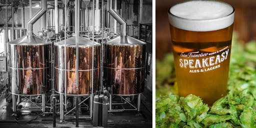Speakeasy Ales & Lagers Pop-Up Shop & Brewery Tours - SFMade Week