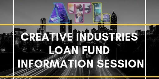 Creative Industries Loan Fund Information Session