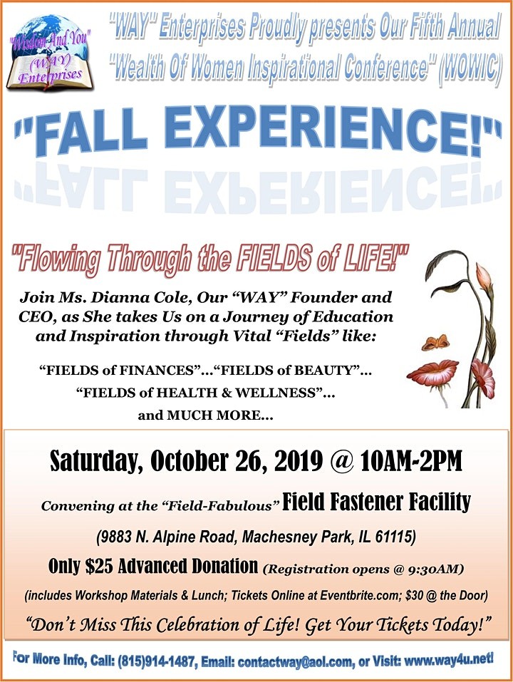 WAY Enterprises Fall Experience image