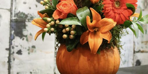 Pumpkins and Petals at Canyon Lake Country Club with Alice's Table