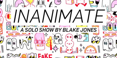 InAnimate: a solo-show featuring Blake Jones tickets