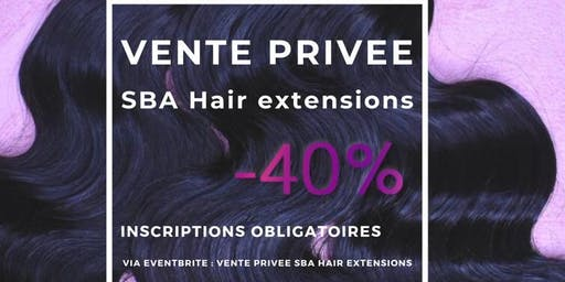 Vente privée SBA HAIR EXTENSIONS -40%