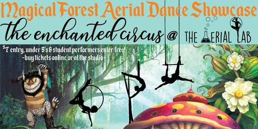 Magical Forest Aerial Dance Student Showcase - Evening Show