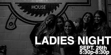 Ozark Axe House - Ladies' Night! tickets
