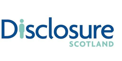 DISCLOSURE SCOTLAND REGISTERED BODIES TRAINING WORKSHOP GLASGOW