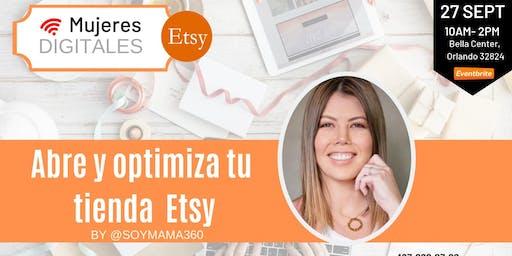 Mujeres Digitales: Edición Etsy