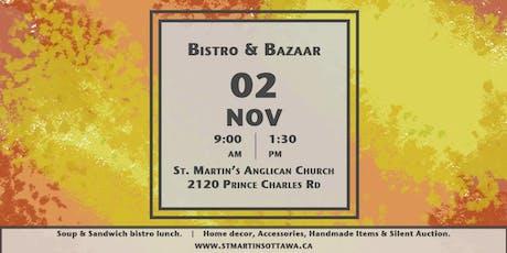St. Martin's Anglican Church BAZAAR & BISTRO tickets