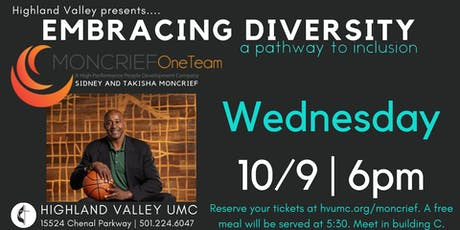 WE ARE ONE | Embracing Diversity Presentation - Sidney & Takisha Moncrief tickets