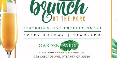 Brunch at the Parc tickets